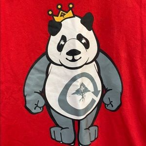 Lrg Shirts & Tops - Lrg boy's red tee shirt with Panda on front